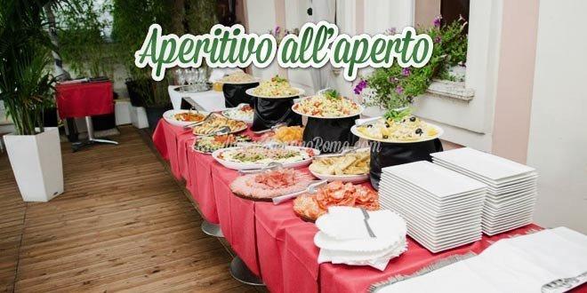 Aperitivo all'aperto Roma per Feste di Compleanno in Locali Estivi